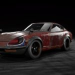 NEED FOR SPEED PAYBACK「FAIRLADY 240ZG」の廃品パーツ。