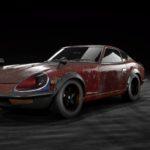 NEED FOR SPEED PAYBACK「FAIRLADY 240ZG」の廃品パーツ。