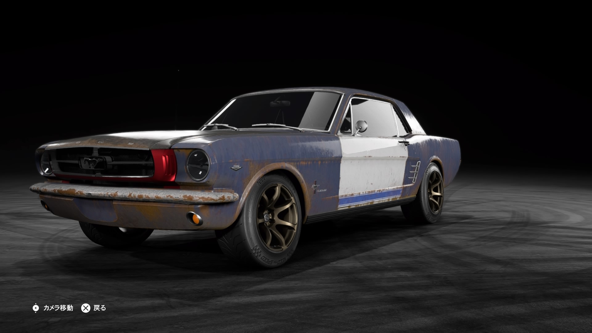 how to get the mustang in nfs payback